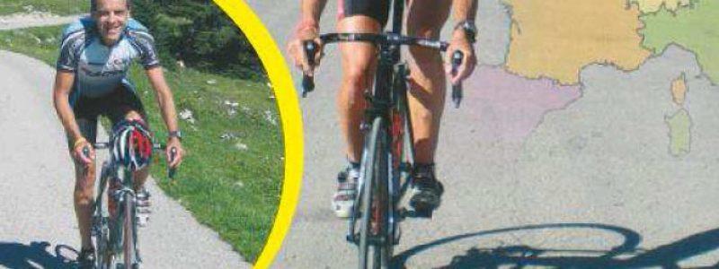 richard van ameijden, fietsen, bergen